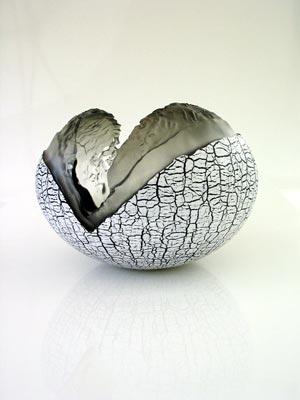 Glass sculpture by Pascal Lemoine