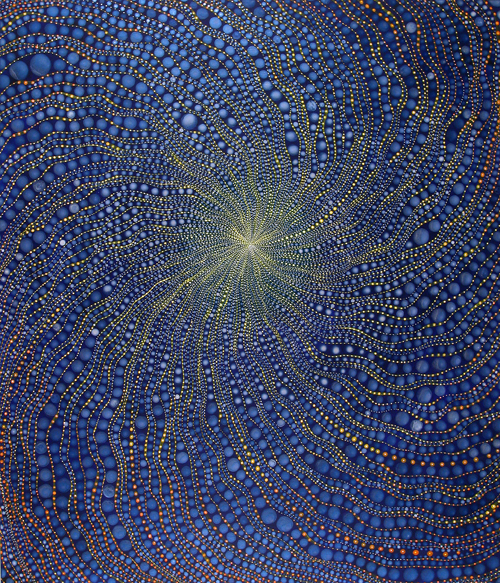 Painting by Barbara Takenaga
