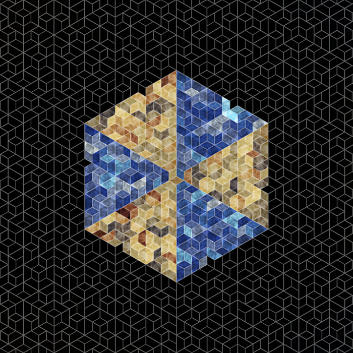 An aperiodic tiling by Samuel Monnier