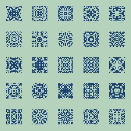 pixel art 7x7