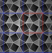 A periodic tiling